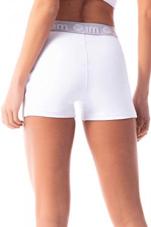 Shorts Branco Space