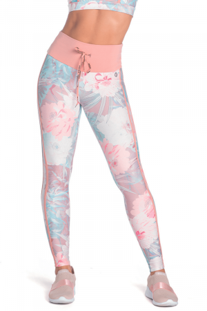 Legging Fitness Peace Floral