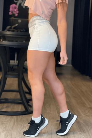 Shorts Fitness Itália Branco