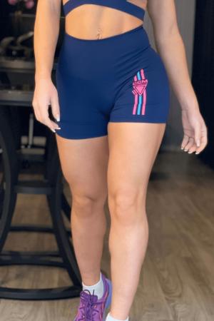 Shorts Básico Marcelle Azul Marinho